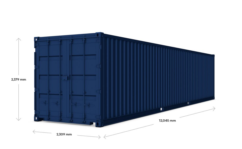 40' Dry Freight